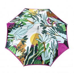 Parapluie Femme Droit Jardin d'Eden