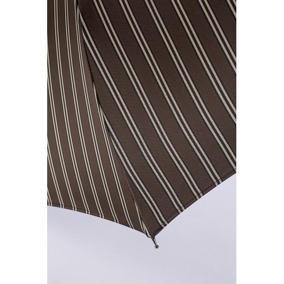 Mini-Parapluie pliant Homme Oscar poignée bois droite