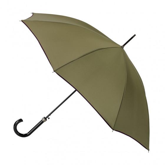 Parapluie Femme Canne Cyprès Finition Prune