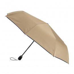 Parapluie Pliant Femme Beige finition Marine