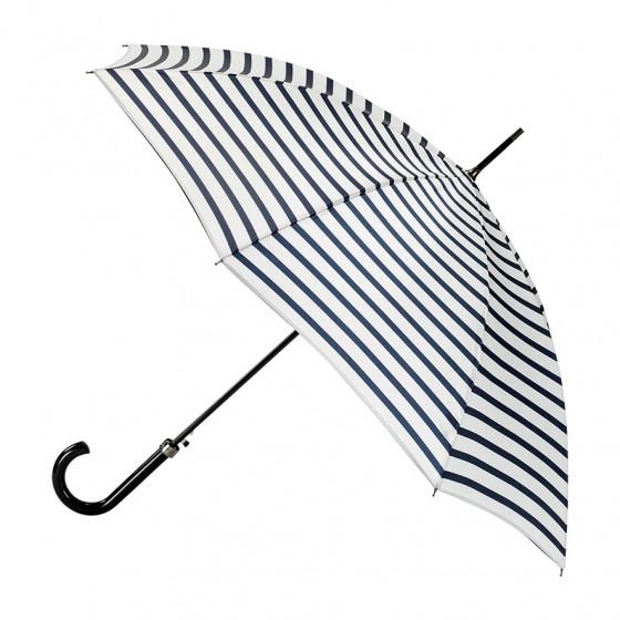 Parapluie Femme Marinière Ecru