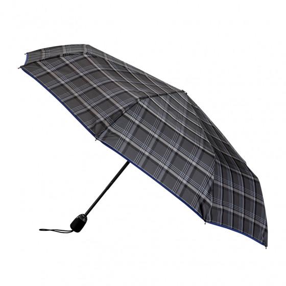 Parapluie Homme Pliant Edouard finition Bleue