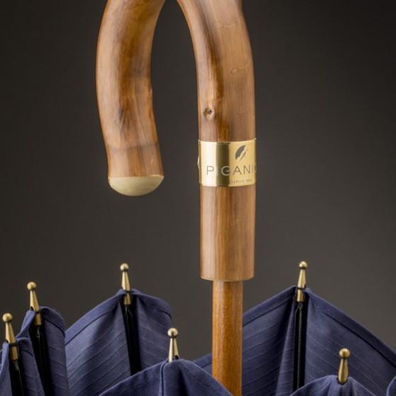 Poignée Parapluie L'Aurillac Homme Bleu Piganiol